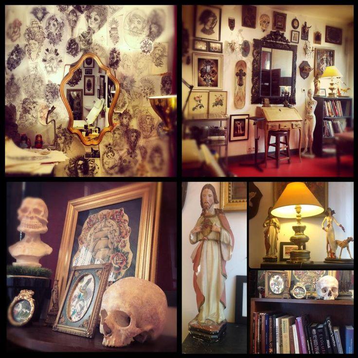 63 best images about tattoo shop decoration on pinterest shops best tattoo shops and tattoo shop - Tattoo studio decor ...