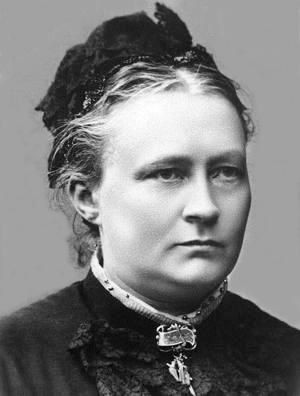 Minna Canth,,,a Finnish writer and strong supporter of women's rights in Finland & Europe. Pioneer in education & the 1st Finnish woman to run a newspaper.