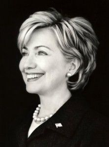 Hillary Clinton: US Secretary of State, Candidate for US Presidency 2008, Former US Senator (NY), Former US First Lady, and Yale Law Graduate.