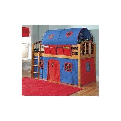 Mansfield Junior Loft Bed in White - $745.00