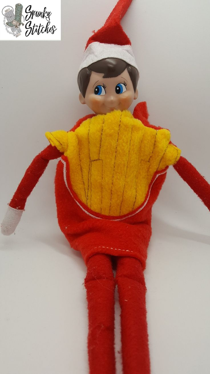French Fry Elf Costume