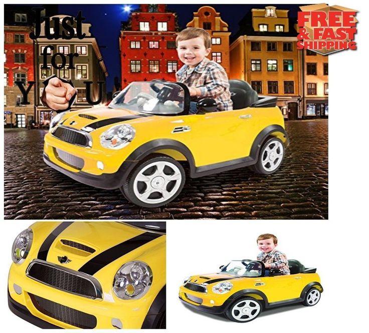 ORIGINAL MINI Cooper 6Volt Powered Ride On Car Christmas Gift For Kid Boy Girl  #Rollplay