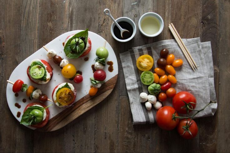 My Garden Fresh Favorites | 3 Tomato Recipes | Recipe | Caprese Skewers | Joanna Gaines | Waco, TX