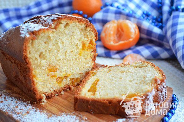 Рецепт Сочный кекс с мандаринами