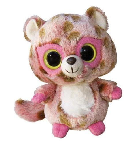 "5"" Aurora Plush Yoo Hoo Friends Pink Leopard "" Rosette"" Stuffed Animal Toy | eBay"