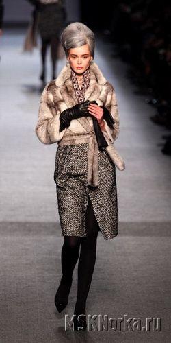 Модные шубы 2011-2012 года