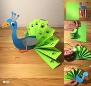Afbeeldingsresultaat voor knutselen met een papieren zak