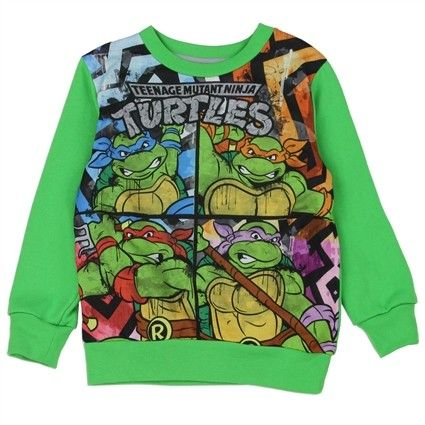 Available Sizes 2T 3T 4T Made From 60% Cotton 40% Polyester Label TMNT Sweatshirt Weight 5oz Officially Licensed By Teenage Mutant Ninja Turtles