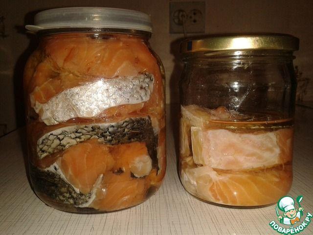Малосольная красная рыба быстрого приготовления ингредиенты