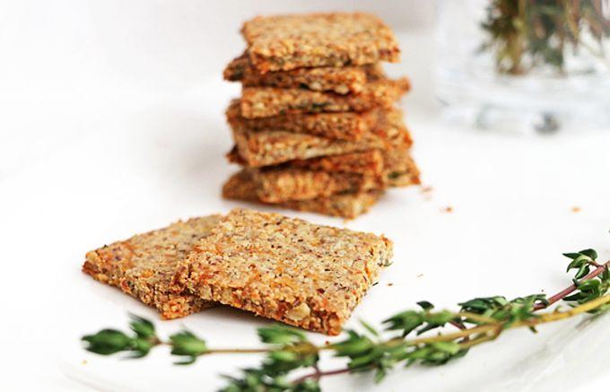 Biscuiți de Păstârnac și Semințe