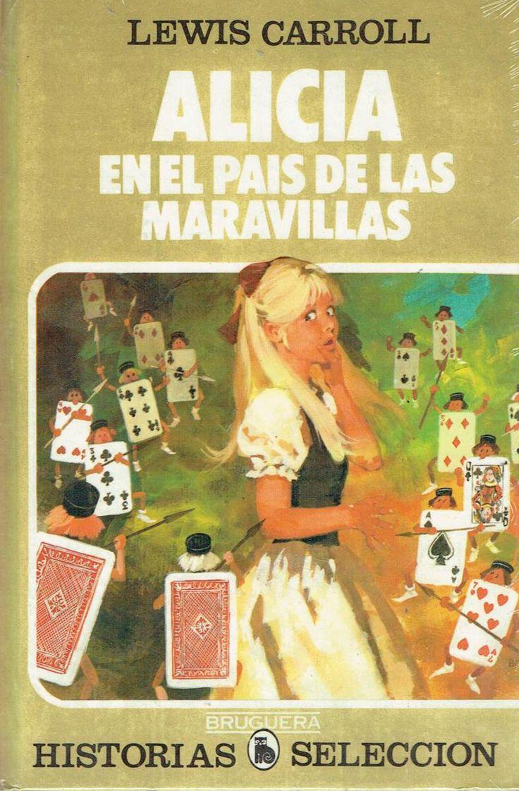 Portada llibre de Alicia en el pais de les meravelles antig.