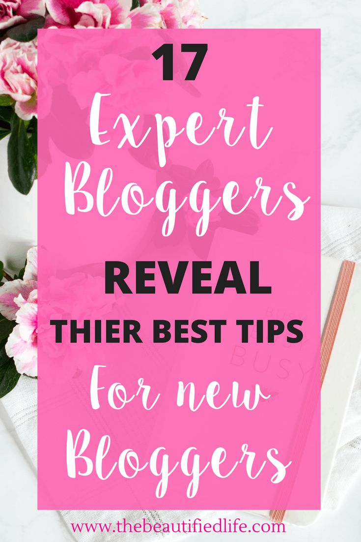 16 highly successful bloggers and sharing their best tips for new bloggers - all of these ladies make a full-time income and..