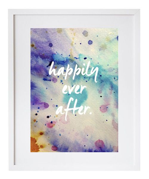 Happily Ever After Print   Pony Lane