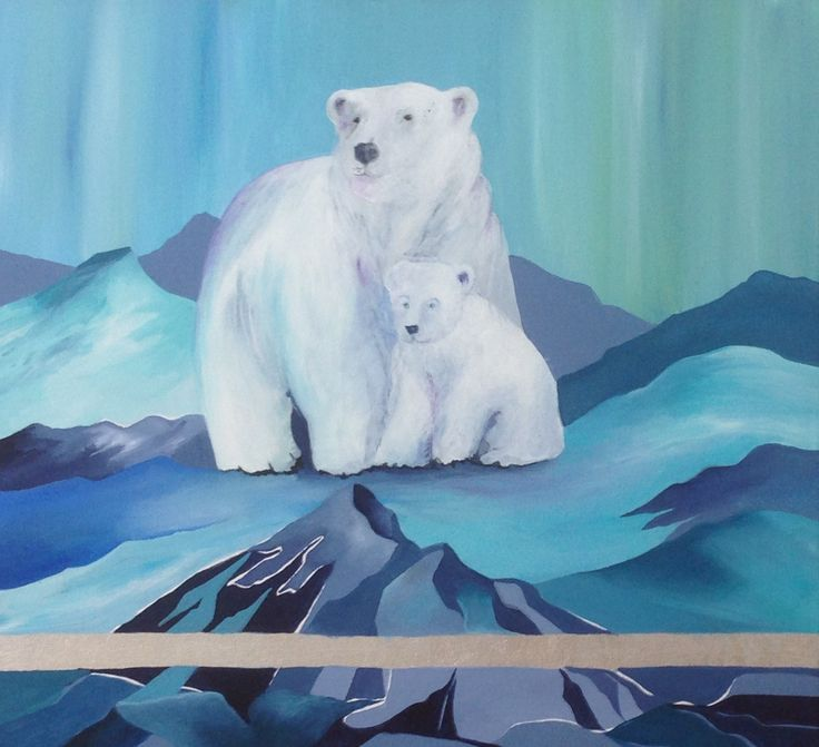 Kunst maleri Mette Hansgaard