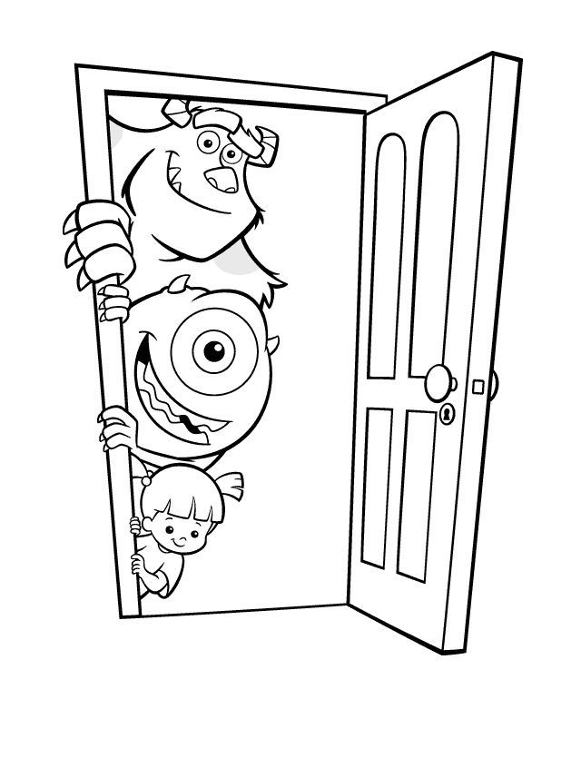 Monsters Inc Coloring Pages – Best Coloring Pages – #Coloring #Monsters #Pages – sozleri