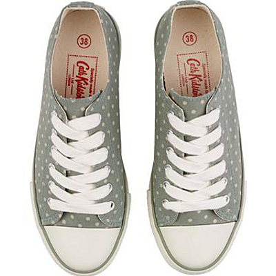 Cath Kidson Plimsolls. would go nice with my bag  wish we had a store in SA