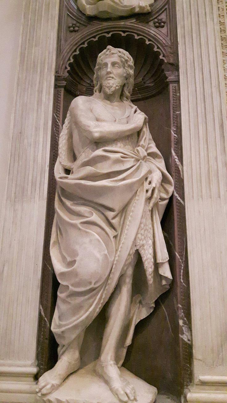 Dan Giovanni Battista.  Dalla Cappella Piccolomini nella Chiesa di Sant'Anna dei Lombardi a Napoli