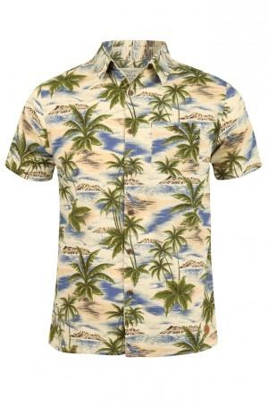 Native Youth Hawaiian Print Shirt