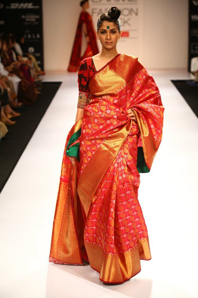 LFW Day 3 ( Indian Textile Day) - Winter/Festive 2012