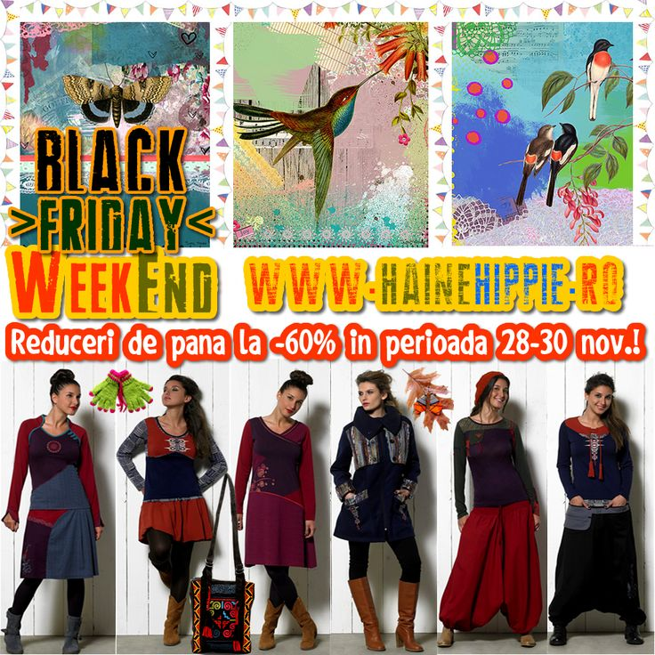 >> BLACK  FRIDAY  HAINE  HIPPIE !! << Nu rata ultimele si cele mai MARI oferte promoţionale! ॐ http://www.hainehippie.ro/84-black-friday