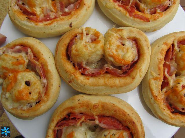 Los fogones de Ana Sevilla: Palmeritas de pizza