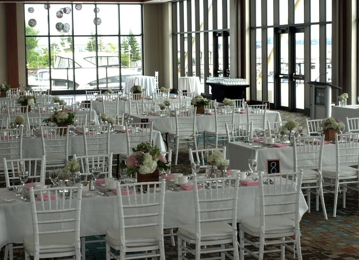 Rustic wedding with splashes of Pink at Delta Prince Edward