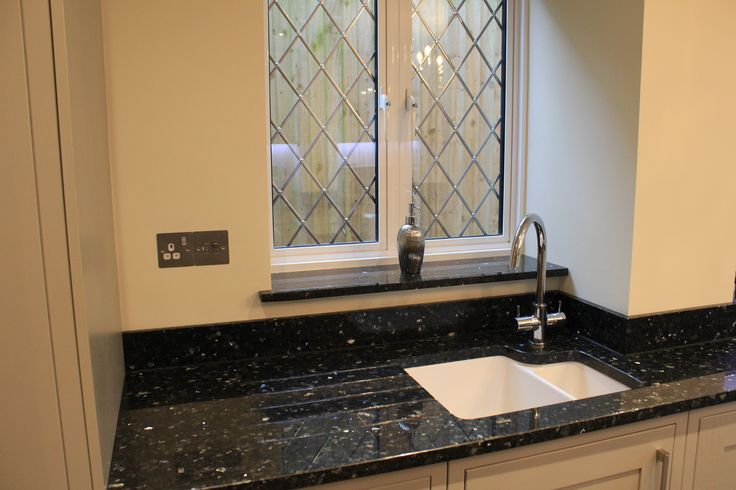 Sill Granite Sink : 1000+ images about Granite Worktops on Pinterest Black granite ...