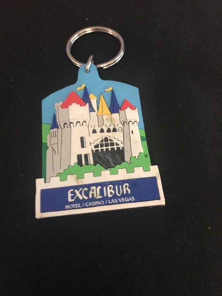Excalibur Hotel Casino Las Vegas Key Chain Fob The Excalibur Casino  | eBay