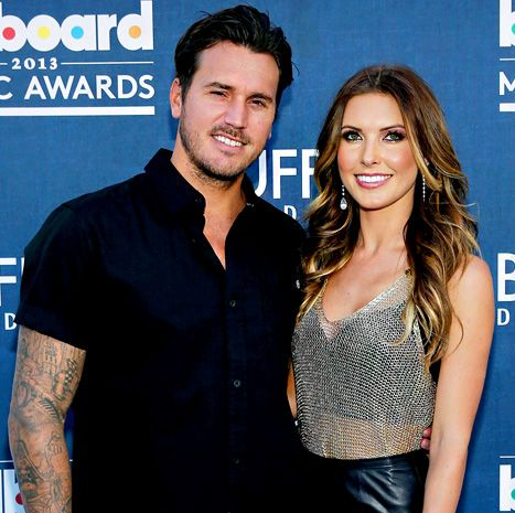 "Audrina Patridge tells Us Weekly that ""yes,"" Corey Bohan is the love of her life."