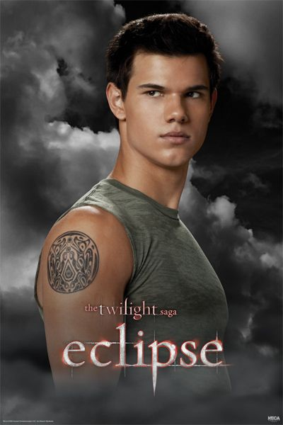 Dazzled By Twilight |  The Twilight Saga Eclipse Poster - Jacob with Tattoo