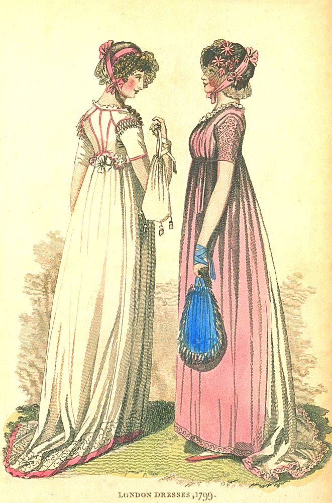 London Dresses, 1799.