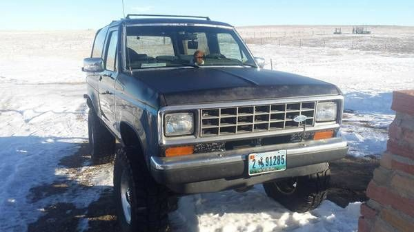 1988 Ford Bronco II (Chugwater / Cheyenne) $4000: < image 1 of 13 > 1988 Ford Bronco II condition: goodcylinders: 6 cylindersdrive:…