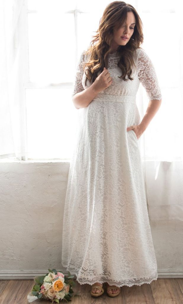 Plus Size Wedding Dress Sweet Serenity Lace Gown Ivory