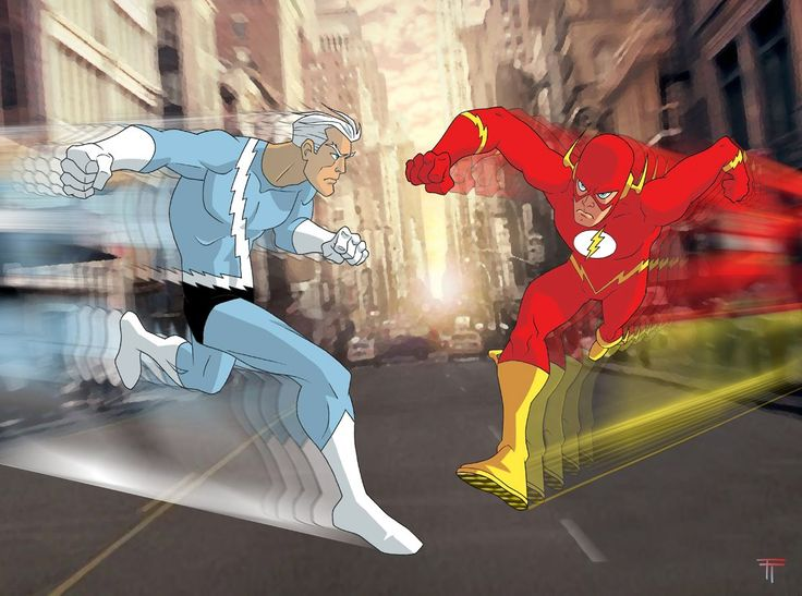Quicksilver comic drawings | quicksilver marvel comics versus the flash dc comics they fight