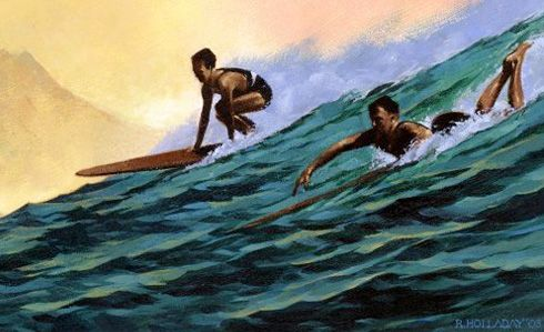 how to see surfing history