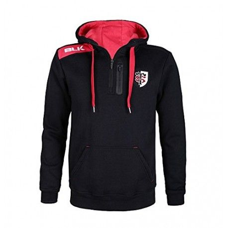 Sweat Hoody Stade Toulousain Adulte-Enfant / BLK
