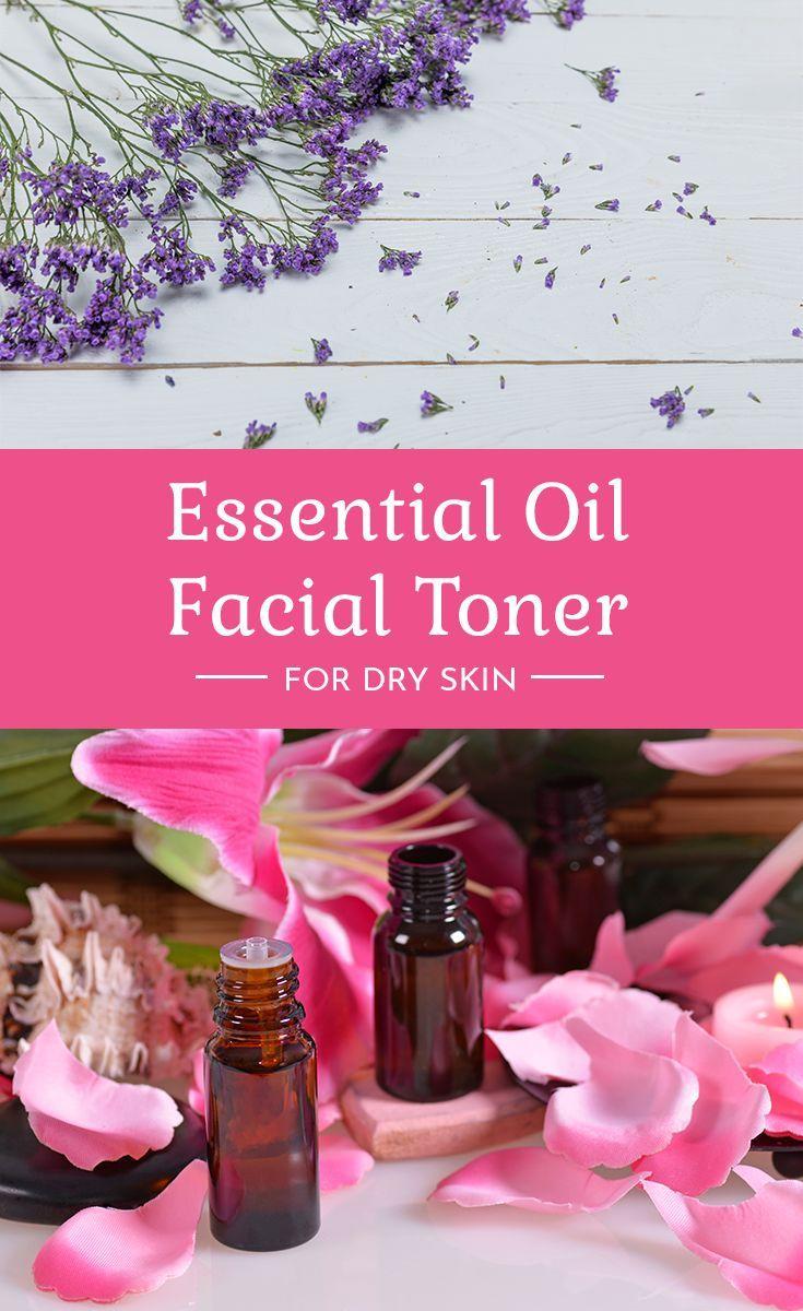 DIY Facial Toner for Dry Skin with Essential Oils | Face ...