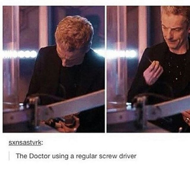 """Clara this not my screwdriver. Where is my screwdriver??? MY screwdriver would never behave this way."""