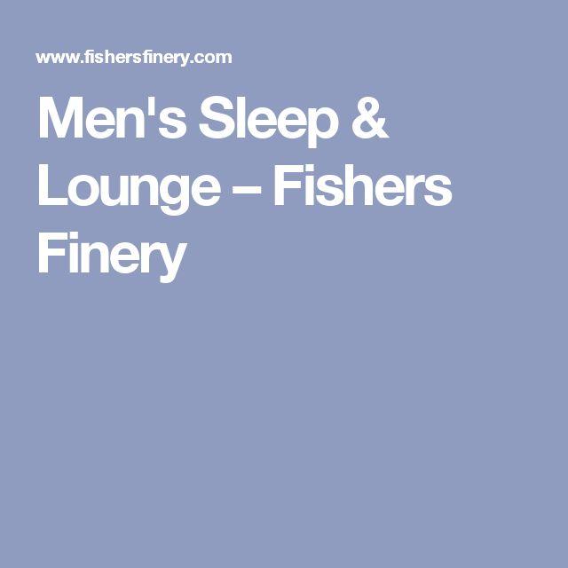 Men's Sleep & Lounge – Fishers Finery