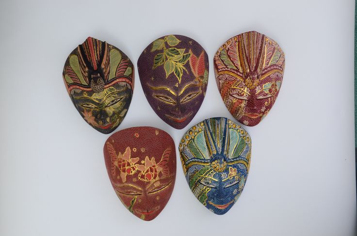 Wooden Batik Mask