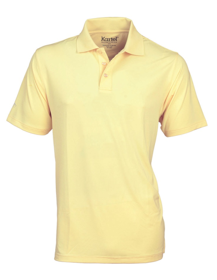 $55 Carter - our classics golf poloshirt- in Daffodil. Available in a variety of colours
