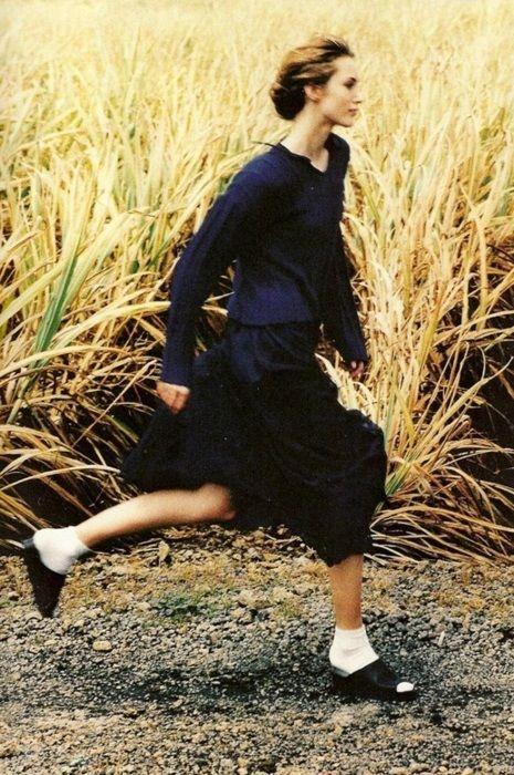 'Bleus de chine'  Vogue Paris March 1994