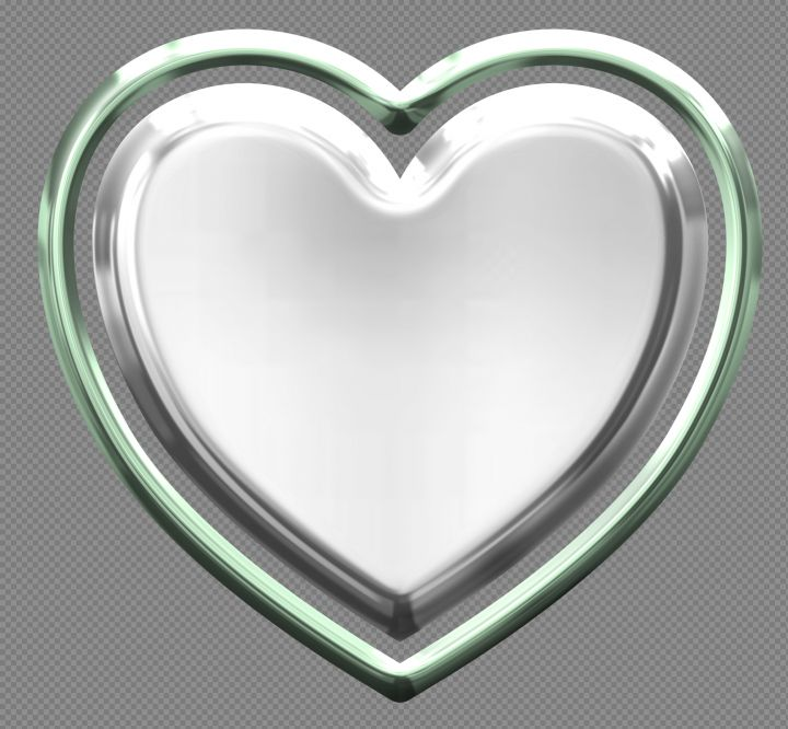 Silver Heart Png Image Purepng Free Transparent Cc0 Png Image Heart Clip Art Silver Heart Heart Shaped Frame