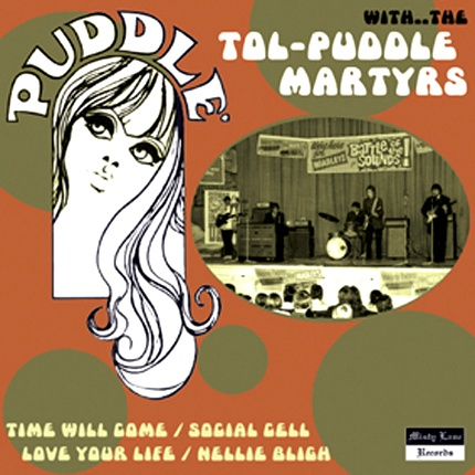 """TOL-PUDDLE-MARTYRS  """"Time will come""""  7"""" EP"""