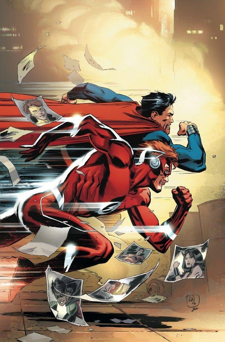 TITANS_7Hogar dulce hogar! Una nueva amenaza trae cara Wally West a cara con el hombre de acero, y los dos se reconocen mutuamente como almas gemelas de otro mundo. Además, los Titanes establecieron su nueva torre en la ciudad de Nueva York!