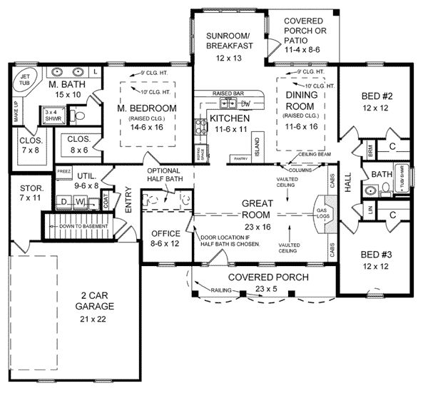 32 best Floor plans images – Country House Plans With Open Floor Plan