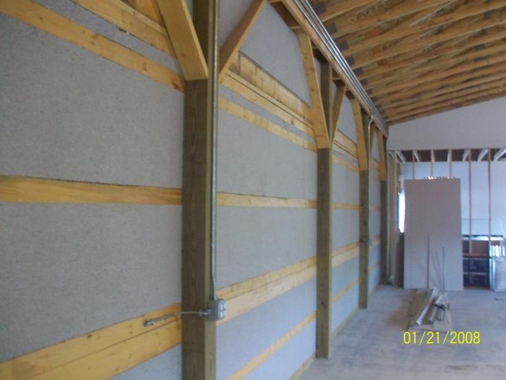 Pole Barn Insulation Ideas Pole Barn Homes Building A