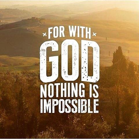 """(@korsfestet) på Instagram: """"Neste gang du er i tvil om noe, så husk at Gud er med deg gjennom Alt! Lukas 1:37 For ingenting er…"""""""