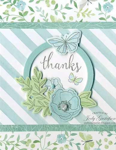 Thanks from Chelsea Gardens If you like flowers and butterflies then Chelsea Gardens is for you. With a paper pack collection of soft ...