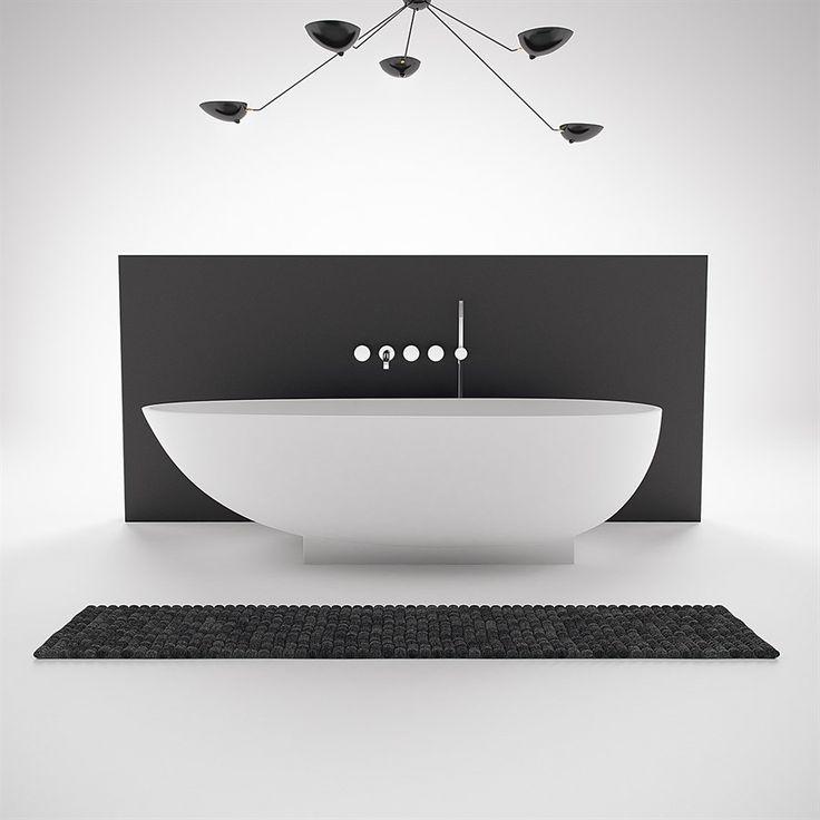 Egg Design fritstående badekar